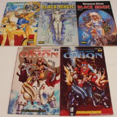 Cómics: DOMINION TANK POLICE, BLACK MAGIC, ORION. MASAMUNE SHIROW. MANGA PLANETA / NORMA. AÑOS 90.. Lote 60783791