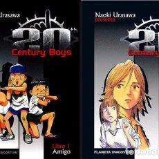 Cómics: 20TH CENTURY BOYS (PACK NÚMEROS 1 A 10) PLANETA NAOKI URASAWA. Lote 98957851