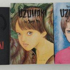 Cómics: COMPLETA - UZUMAKI TOMOS # 1 AL 3 (VIZ COMICS,2002-2003-2007) - JUNJI ITO - EDICION USA. Lote 64073963