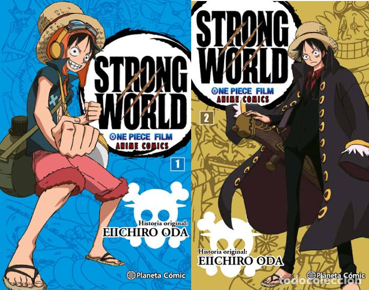 ONE PIECE STRONG WORLD COMPLETO 2 Nº PLANETA DEAGOSTINI (Tebeos y Comics - Manga)