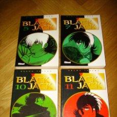 Cómics: LOTE 4 TOMOS MANGAS DE BLACK JACK Nº 5 7 10 11 EN ESPAÑOL, GLÉNAT.. Lote 66945826