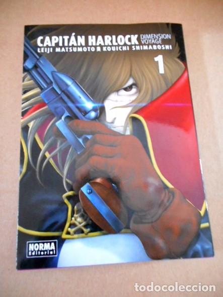 CAPITÁN HARLOCK : DIMENSIÓN VOYAGE Nº1 (Tebeos y Comics - Manga)