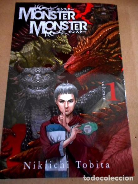 MONSTER X MONSTER Nº1 ( NIKIICHI TOBITA ) (Tebeos y Comics - Manga)
