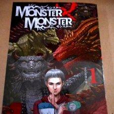 Cómics: MONSTER X MONSTER Nº1 ( NIKIICHI TOBITA ). Lote 68583101