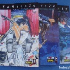 Cómics: KAMIKAZE - 3 TOMOS COMPLETA . Lote 71100713