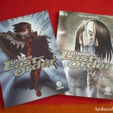 Cómics: GUNNM LAST ORDER NºS 1 Y 2 ( YUKITO KISHIRO ) ¡MUY BUEN ESTADO! MANGA PLANETA 2000. Lote 71227539