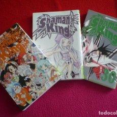 Cómics: SHAMAN KING NºS 30, 31 Y 32 ( HIROYUKI TAKEI ) ¡MUY BUEN ESTADO! MANGA GLENAT 2008. Lote 133887087