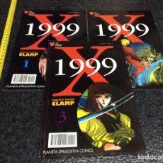 Cómics: X 1999 , SERIE COMPLETA / DIBUJO: CLAMP -ED. PLANETA DEAGOSTINI. Lote 71654383