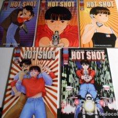 Cómics: HOT SHOT. KEI KUROSAWA - SATSUI - SHIBUSAWA. PLANETA DEAGOSTINI. LOTE DE 5 COMICS DE 5. BIEN CONSERV. Lote 72442987