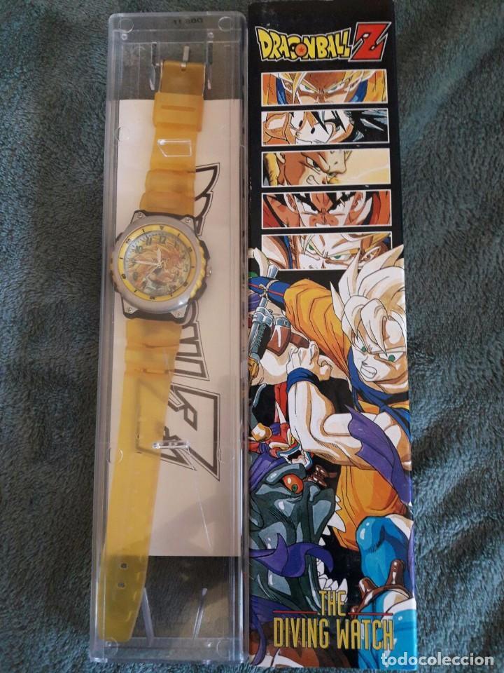 RELOJ DRAGONBALL Z / THE DIVING WATCH / EDICIÓN 1989 / FUNCIONA / ESTUCHE ORIGINAL / (Tebeos y Comics - Manga)