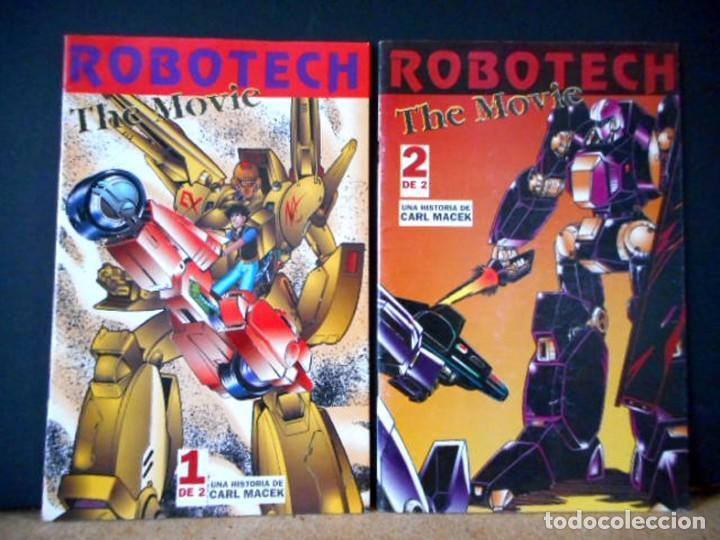 ROBOTECH THE MOVIE ( OBRA COMPLETA ) (Tebeos y Comics - Manga)