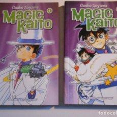 Cómics: MAGIC KAITO. GOSHO AOYAMA. 2 TOMOS: 1 Y 2. PLANETA DE AGOSTINI. 340 GRAMOS.. Lote 74221359