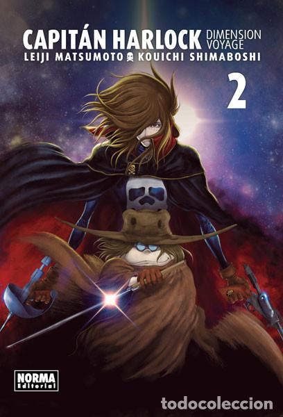 CÓMICS. MANGA. CAPITÁN HARLOCK. DIMENSION VOYAGE 2 - LEIJI MATSUMOTO/KOUICHI SHIMABOSHI (Tebeos y Comics - Manga)