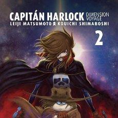 Cómics: CÓMICS. MANGA. CAPITÁN HARLOCK. DIMENSION VOYAGE 2 - LEIJI MATSUMOTO/KOUICHI SHIMABOSHI. Lote 74498023