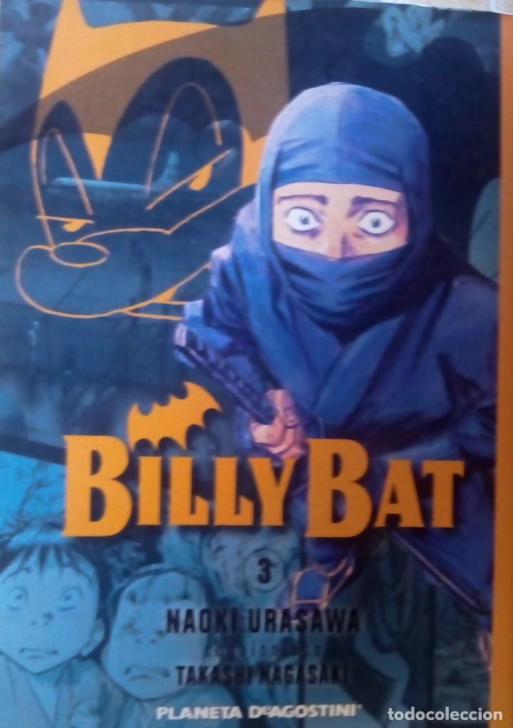 BILLY BAT Nº 3 DE NAOKI URASAWA & TAKASHI NAGASAKI PLANETA DE AGOSTINI (Tebeos y Comics - Manga)