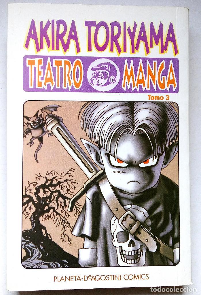 Akira Toriyama Teatro Manga Tomo 3 Buy Manga Comics At Todocoleccion 74737135