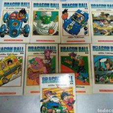 Cómics: DRAGON BALL BLANCO . LOTE NUEVE NUMEROS MANGA DRAGONBALL. Lote 74872146