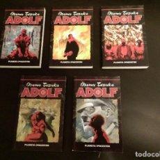 Adolf, por Osamu Tezuka (Planeta) - Completa, 5 Tomos