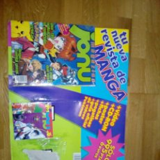 Cómics: REVISTA JONU MAGAZINE NUMERO 1 FALTA VHS. Lote 76578641