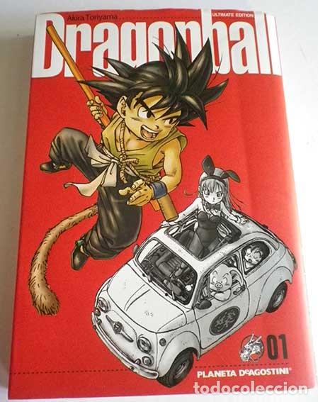 DRAGONBALL 01 SERIE ROJA AKIRA TORIYAMA ULTIMATE EDITION PLANETA DEAGOSTINI 2006 (Tebeos y Comics - Manga)