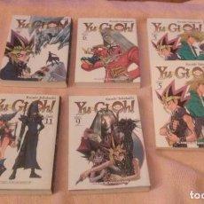 Cómics: YU-GI-OH LOTE 6 TOMOS (ALGUNOS REPETIDOS).MANGA. Lote 79571881