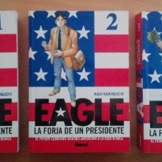 Cómics: EAGLE: LA FORJA DE UN PRESIDENTE - KAIJI KAGAWUCHI - EDITORIAL GLÉNAT - 2008 - COMPLETA 5 NÚMEROS. Lote 80172989