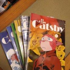 Cómics: EL GRAN CATSBY COMPLETA,6 TOMOS. Lote 86334156