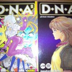 Cómics: DNA2 14 NÚMEROS NORMA COMPLETA KATSURA. Lote 206244868