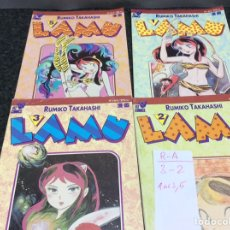 Comics: LAMU RUMIKO TAKAHASHI Nº - 1,2,3,5, -ED. PLANETA 1994. Lote 87584572