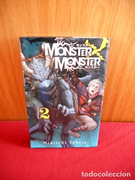MONSTER X MONSTER Nº2 ( NIKIICHI TOBITA ) (Tebeos y Comics - Manga)