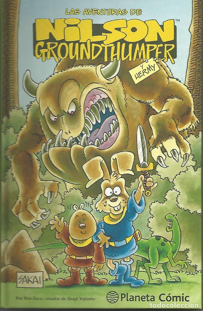 LAS AVENTURAS DE NILSON GROUND THUMPER SAKAI PLANETA DEAGOSTINI (Tebeos y Comics - Manga)