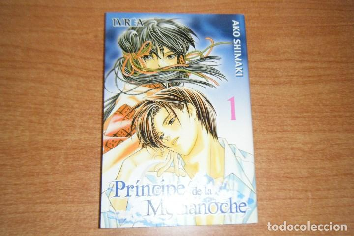PRINCIPE DE LA MEDIANOCHE, TOMO 1, AKO SHIMANI, DE IVREA. (Tebeos y Comics - Manga)