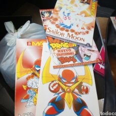 Cómics: SUPER MANGA. SUPLEMENTO DE SUPER JUEGOS. 1,2,4Y 5. SAILOR MOON. DRAGON BALL. Lote 89419068