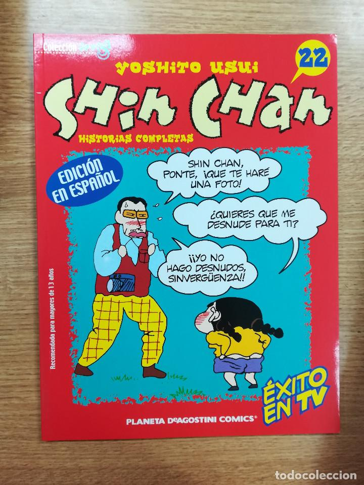 SHIN CHAN #22 (PLANETA) (Tebeos y Comics - Manga)