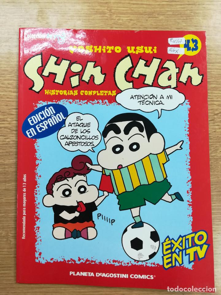SHIN CHAN #43 (PLANETA) (Tebeos y Comics - Manga)