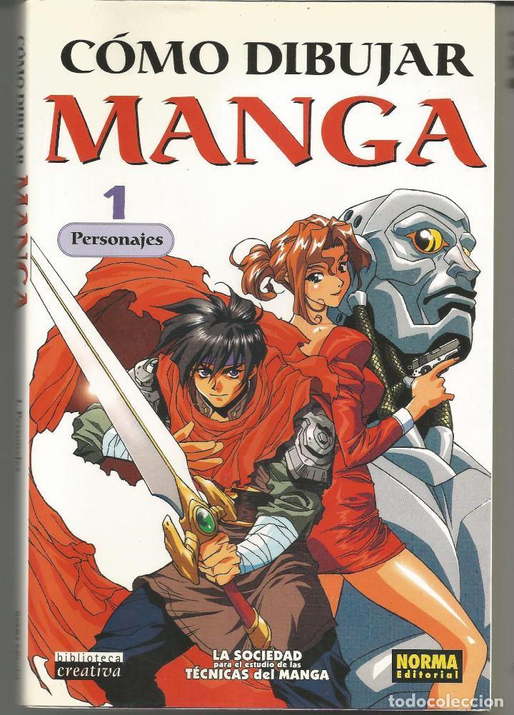 BIBLIOTECA CREATIVA CÓMO DIBUJAR MANGA 01. PERSONAJES (Tebeos y Comics - Manga)