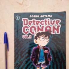 Cómics: COMIC - DETECTIVE CONAN VOL. 2 - MANGA - NUMERO 1 - GOSHO AOYAMA - PLANETA. Lote 94835971