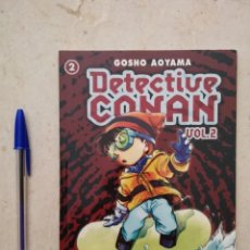 Cómics: COMIC - DETECTIVE CONAN VOL. 2 - MANGA - NUMERO 2 - GOSHO AOYAMA - PLANETA. Lote 94835975