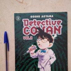 Cómics: COMIC - DETECTIVE CONAN VOL. 2 - MANGA - NUMERO 3 - GOSHO AOYAMA - PLANETA . Lote 94836035