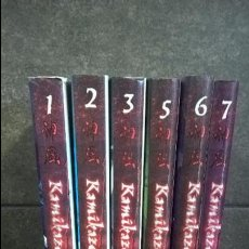 Cómics: KAMIKAZE 6 TOMOS . SATOSHI SHIKI. EDITORIAL NORMA 2003/ 2004. TEBEOS. COMICS.. Lote 95292615