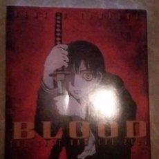 Cómics: BLOOD THE LAST VAMPIRE 2000. TOMO ÚNICO.. Lote 95804115
