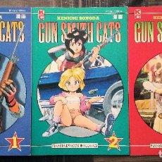 Cómics: GUN SMITH CATS 1ª PARTE DE KENICHI SONODA. COL.COMPLETA. PLANETA DEAGOSTINI 1994. Lote 97139723