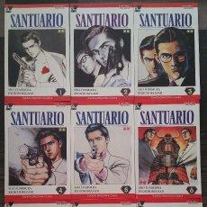 Cómics: SANTUARIO DE FUMINURA E IKEGAMI. COMPLETA 9 COMICS. PLANETA DEAGOSTINI 1993. Lote 97144875