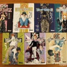 Cómics: MANGA DEATH NOTE - TAKESHI OBATA - TOMOS 1 A 7 - GLÉNAT. Lote 99103475