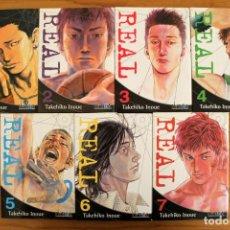 Manga Real - Takehiko Inoue - Tomos 1 a 13 - Ivrea