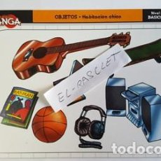 Comics : FICHA DE DIBUJO MANGA CARDS - FICHA Nº 071 - OBJETOS - HABITACION CHICO -. Lote 103325631