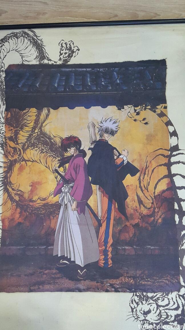 PÓSTER DE TELA MANGA KENSHIN Y ENISHI (Tebeos y Comics - Manga)