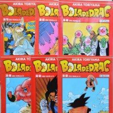 Cómics: BOLA DE DRAC - 6 EJEMPLARES DE DRAGON BALL - EN CATALA - 206 - 207 - 208 - 209 - 210 - 211. Lote 104331007
