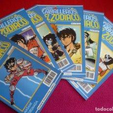 Cómics: LOS CABALLEROS DE ZODIACO NºS 1, 2, 3, 4, 5 Y 6 ( MASAMI KURUSADA ) ¡BUEN ESTADO! MANGA PLANETA. Lote 111863927