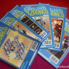 Cómics: LOS CABALLEROS DE ZODIACO NºS 8, 9, 10, 11, 12 Y 13 ( MASAMI KURUSADA ) ¡BUEN ESTADO! MANGA PLANETA. Lote 111864115
